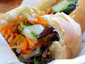 Char-grilled Pork Banh Mi