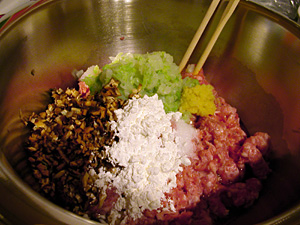 dumpling filling ingredients